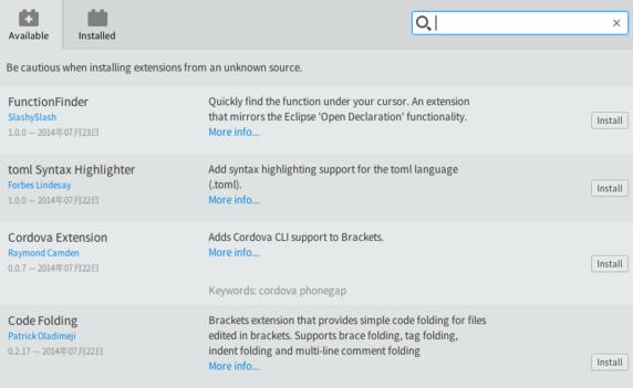 开源网页编辑器(Adobe Brackets)_52z.com