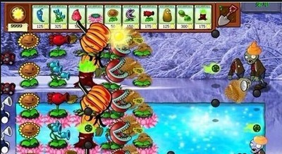 植物大战僵尸冰雪iPhone版_52z.com