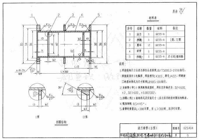 02s404防水套管图集高清版pdf格式免费版_52z.com