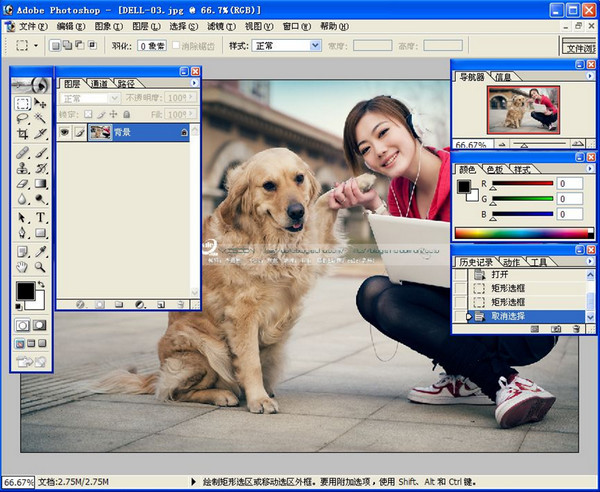 photoshop7.0绿色迷你版_52z.com