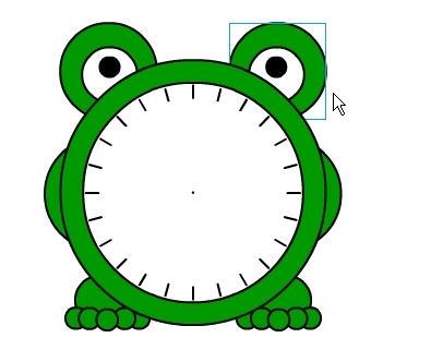 Flash教你制作可爱的小青蛙闹钟_52z.com