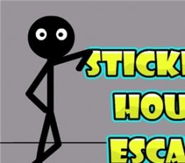 火柴人密室潜逃(Stickman House Escape)手游下载 火柴人密室潜逃安卓版下载V1.0.0