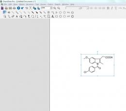 ChemDraw中文汉化版_化学结构式编辑软件下载