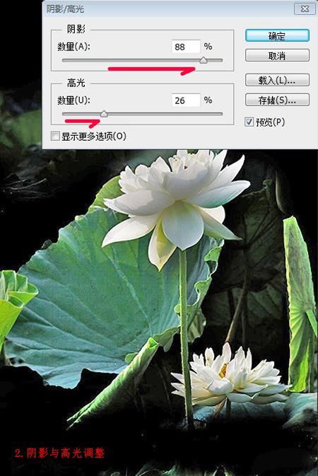 水墨荷花图片,水墨荷花制作教程_52z.com