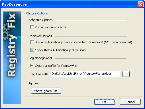RegistryFix(注册表垃圾文件清理工具) V7.1 英