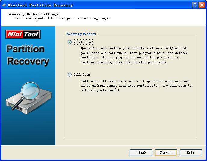 MiniTool Partition RecoveryV5.0 英文安装版