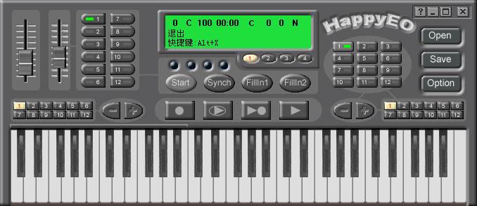 HAPPYEO(模拟电子琴)V3.12 简体中文正式版