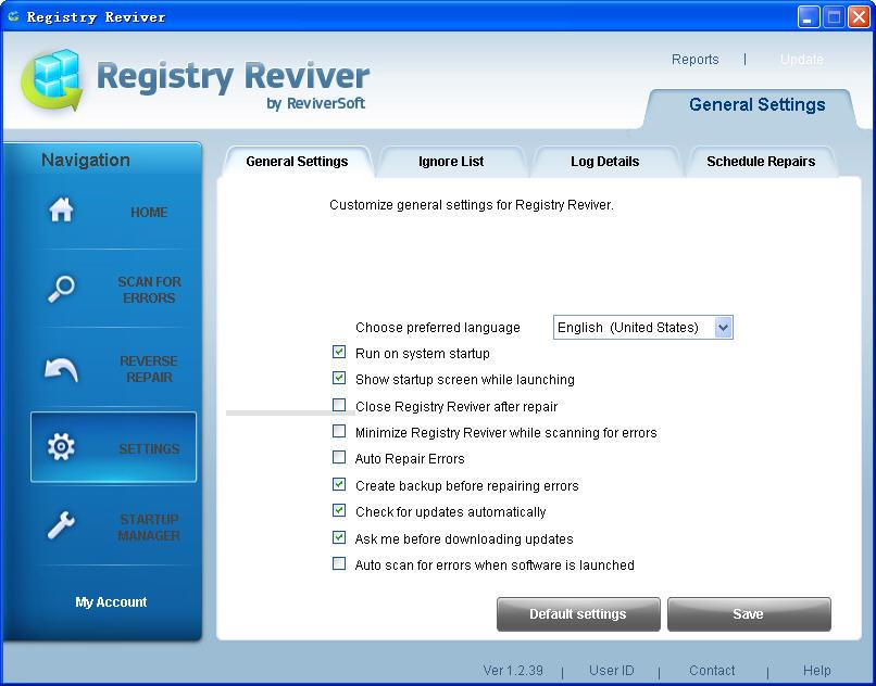 Registry Reviver(系统修复优化)V3.0.1.144 多语言绿色便携版