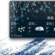 windows7 天气小工具
