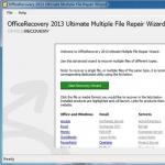 文件恢复软件OfficeRecovery_OfficeRecoveryV13.0.40450免费旗舰版下载