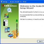 Acala DivX to iPod(mp4转换工具) V4.2.6 免费版