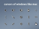 Cursors Of Windows Like Mac(鼠标指针)