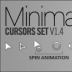 Minimalistic cursors(鼠标指针)