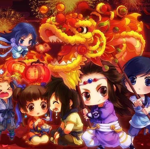 【欢乐新春】春节期间可以玩的游戏