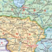 爱沙尼亚地图