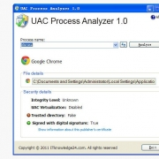 UAC Process Analyzer(进程安全级别分析软件) V1.0 绿色版