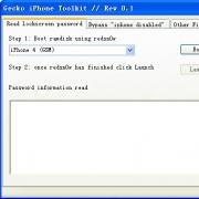 iphone锁屏密码破解工具(附方法) V0.1