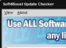 Soft4Boost Update Checker(软件升级检测)V4.6.3.147 官方版