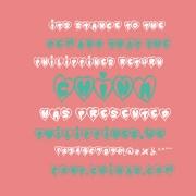 心形英文字体