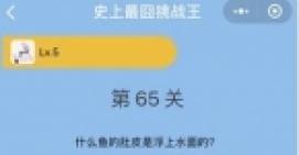 微信史上最�逄粽酵醯�65关通关攻略