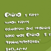 lovepop字体