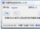 利搜网站排名优化V1.01 绿色版