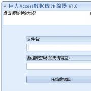 巨人Access数据库压缩器 V1.0 绿色免费版
