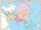 亚洲图片亚洲地图高清版大图中文版