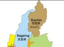 缅甸地图中文版