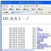 asp本地调试工具 V1.0 绿色版