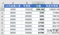 2019年年终奖个人所得税计算方法(附最新计算公式)