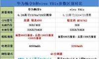 华为畅享9和vivo Y81s手机对比实用评测