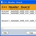 C++ Header Guard(C++头文件保护符)