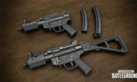 绝地求生MP5K便携式冲锋枪介绍