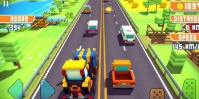 3D像素赛车,赛车类竞技游戏,让我们重新回味童年的乐趣,整体的玩法和我们小时候玩的赛车类游戏有异曲同工之处。玩家操纵赛车在赛道上疾驰,并且在赛道中还可以获得各种不同的道具,可以获得攻击对手的道具,也可以获得赛车加速的道具,帮助玩家击败对手!