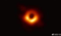 人类史上第一张黑洞照片