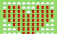 抖音app云里面用玫瑰拼成爱心制作方法教程