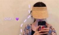 2019最新夏季小清新女生头像大全 戴帽子的女生头像可爱