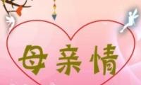 2019母亲节简短祝福语经典唯美句子大全