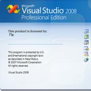 Visual Studio 2008 中文专业版 vs2008(含MSDN for SP1) 中文版VS9.0