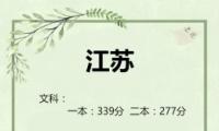 2019江苏高考一本/二本分数线公布