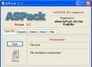 ASPack (exe、DLL压缩)V2.34 汉化破解版