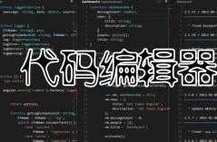 代码编辑器
