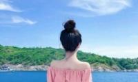 微信唯美女生背影头像无水印 可爱萌萌哒的微信唯美女生背影头像