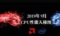 2019年9月桌面CPU性能天梯图