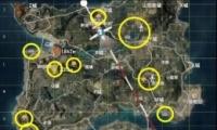 《和平精英》桂花林位置坐标一览