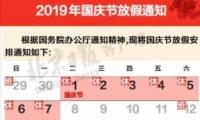 2019国庆节高速免费介绍