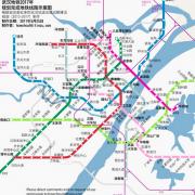 武汉地铁规划线路图最新 V1.0 绿色版