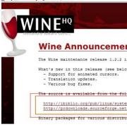 Linux模拟器wine V1.7.44 官方最新版