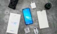 荣耀v30pro手机局部截图方法教程